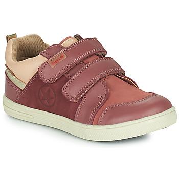 鞋子 女孩 球鞋基本款 Bisgaard LEVI TEX 玫瑰色