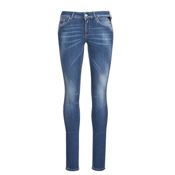 衣服 女士 牛仔铅笔裤 Replay LUZIEN 蓝色 / Fonce