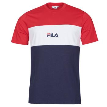 衣服 男士 短袖体恤 Fila ANOKI 红色 / 海蓝色 / 白色