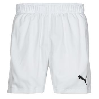 衣服 男士 短裤&百慕大短裤 Puma 彪马 ESS ACTIVE WOVEN SHORT 白色