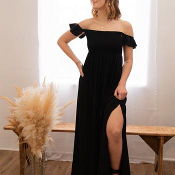 衣服 女士 长裙 Céleste PATCHOULI 黑色