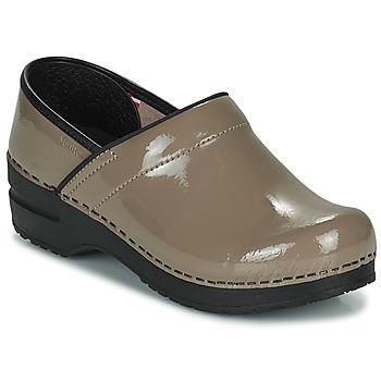 鞋子 女士 洞洞鞋/圆头拖鞋 Sanita PROF 灰褐色