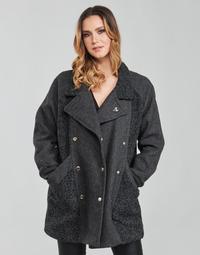 衣服 女士 大衣 Kaporal FLOWY 灰色