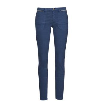 衣服 女士 多口袋裤子 One Step FT22021 海蓝色