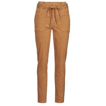 衣服 女士 多口袋裤子 One Step FT22111 米色