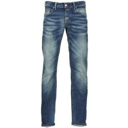 衣服 男士 直筒牛仔裤 MELTIN'POT MARTIN 蓝色 / 米色