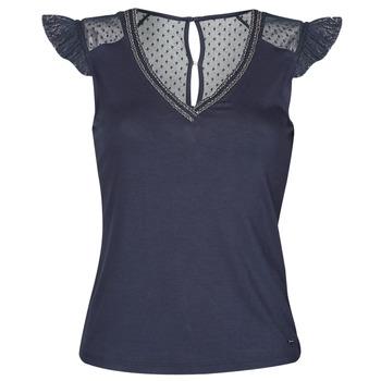衣服 女士 短袖体恤 Morgan DUCHES 海蓝色
