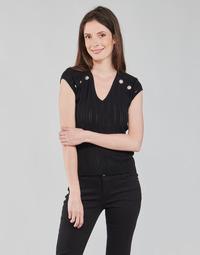 衣服 女士 女士上衣/罩衫 Morgan MDIDO 黑色