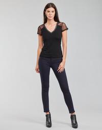 衣服 女士 多口袋裤子 Morgan PETRA 海蓝色
