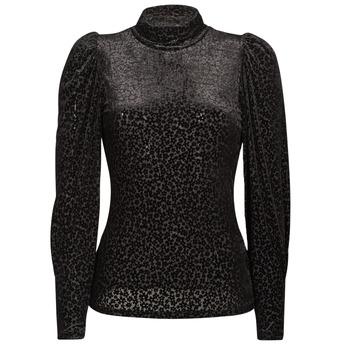衣服 女士 长袖T恤 Morgan TISPI 黑色