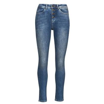 衣服 女士 紧身牛仔裤 Freeman T.Porter MERYLE S-SDM 蓝色 / 米色