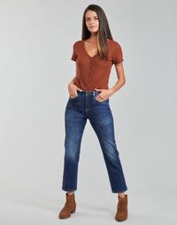 衣服 女士 直筒牛仔裤 Freeman T.Porter MONIKA SDM 蓝色