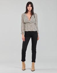衣服 女士 直筒牛仔裤 Freeman T.Porter ALEXA STRAIGHT S-SDM 黑色