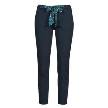 衣服 女士 多口袋裤子 Freeman T.Porter CLAUDIA FELICITA 海蓝色