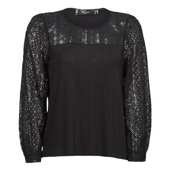 衣服 女士 长袖T恤 Deeluxe FRIDA 黑色