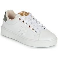 鞋子 女孩 球鞋基本款 Kappa 卡帕 SAN REMO 白色 / 金色 / 银灰色