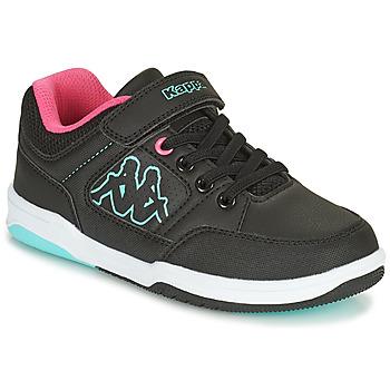 鞋子 女孩 球鞋基本款 Kappa 卡帕 KASH LOW EV 黑色 / 蓝色 / 玫瑰色