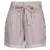 衣服 女士 短裤&百慕大短裤 Vero Moda VMEVA 白色 / 棕色
