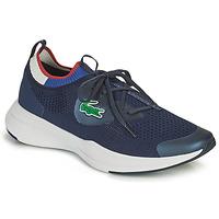 鞋子 男士 球鞋基本款 Lacoste RUN SPIN KNIT 0121 1 SMA 海蓝色