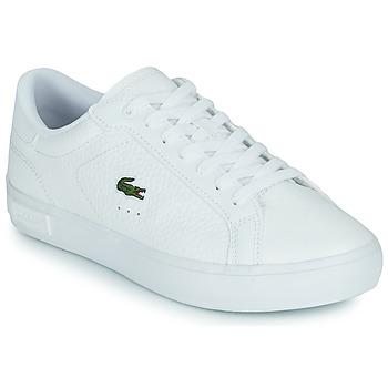 鞋子 女士 球鞋基本款 Lacoste POWERCOURT 0721 2 SFA 白色