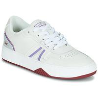 鞋子 女士 球鞋基本款 Lacoste L001 0321 1 SFA 白色 / 紫罗兰