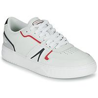 鞋子 男士 球鞋基本款 Lacoste L001 0321 1 SMA 白色 / 红色 / 蓝色