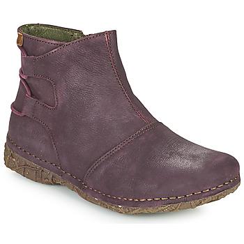 鞋子 女士 短筒靴 El Naturalista ANGKOR 波尔多红