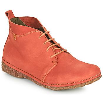 鞋子 女士 短筒靴 El Naturalista ANGKOR 红色
