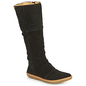 鞋子 女士 都市靴 El Naturalista CORAL 黑色