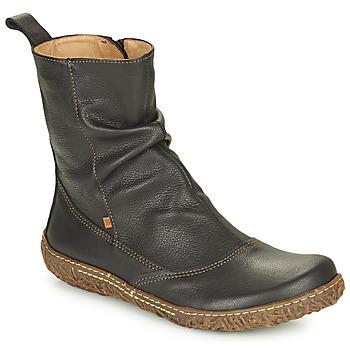 鞋子 女士 短筒靴 El Naturalista NIDO ELLA 黑色