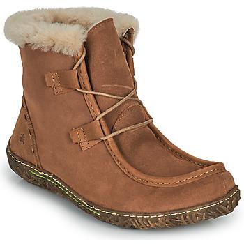 鞋子 女士 短筒靴 El Naturalista NIDO ELLA 棕色