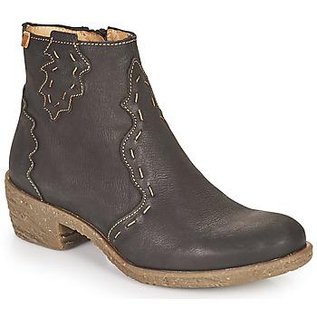 鞋子 女士 短靴 El Naturalista QUERA 黑色
