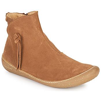 鞋子 女士 短筒靴 El Naturalista PAWIKAN 棕色