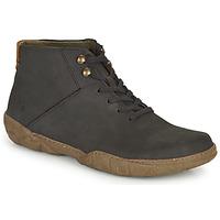 鞋子 男士 短筒靴 El Naturalista TURTLE 黑色