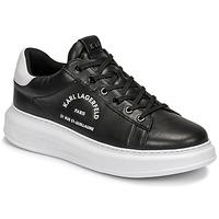 鞋子 男士 球鞋基本款 KARL LAGERFELD KAPRI MENS MAISON KARL LACE 黑色