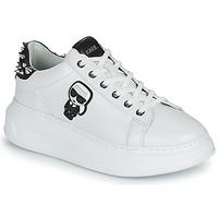 鞋子 女士 球鞋基本款 KARL LAGERFELD KAPRI KARL IKONIC STUD TAB 白色