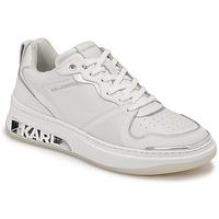 鞋子 女士 球鞋基本款 KARL LAGERFELD ELEKTRA LAY UP LO 白色