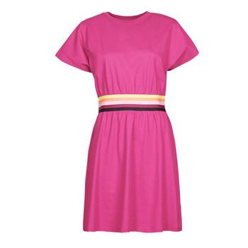 衣服 女士 短裙 KARL LAGERFELD LOGO TAPE JERSEY DRESS 玫瑰色