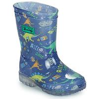 鞋子 男孩 雨靴 Be Only DINO FLASH 蓝色 / 绿色