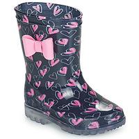 鞋子 女孩 雨靴 Be Only LOVANA FLASH 玫瑰色 / 海蓝色
