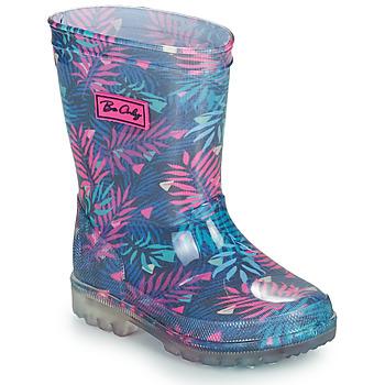 鞋子 女孩 雨靴 Be Only BINTOU 蓝色 / 玫瑰色