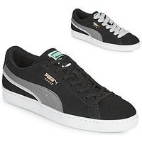 鞋子 男士 球鞋基本款 Puma 彪马 SUEDE TRIPLEX 黑色 / 灰色
