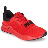 鞋子 男士 球鞋基本款 Puma 彪马 WIRED 红色 / 黑色