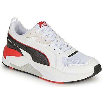 鞋子 男士 球鞋基本款 Puma 彪马 XRAY GAME 白色 / 黑色 / 灰色
