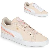 鞋子 女士 球鞋基本款 Puma 彪马 SUEDE TRIPLEX 玫瑰色 / 白色