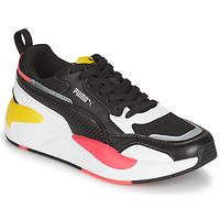 鞋子 女士 球鞋基本款 Puma 彪马 XRAY2 SQUARE 黑色 / 白色 / 玫瑰色