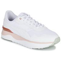 鞋子 女士 球鞋基本款 Puma 彪马 R78 VOYAGE 白色 / 玫瑰色