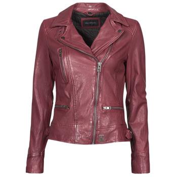 衣服 女士 皮夹克/ 人造皮革夹克 Oakwood VIDEO 波尔多红