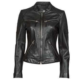 衣服 女士 皮夹克/ 人造皮革夹克 Oakwood HILLS6 黑色