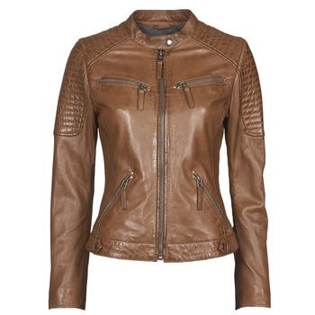 衣服 女士 皮夹克/ 人造皮革夹克 Oakwood HILLS6 棕色
